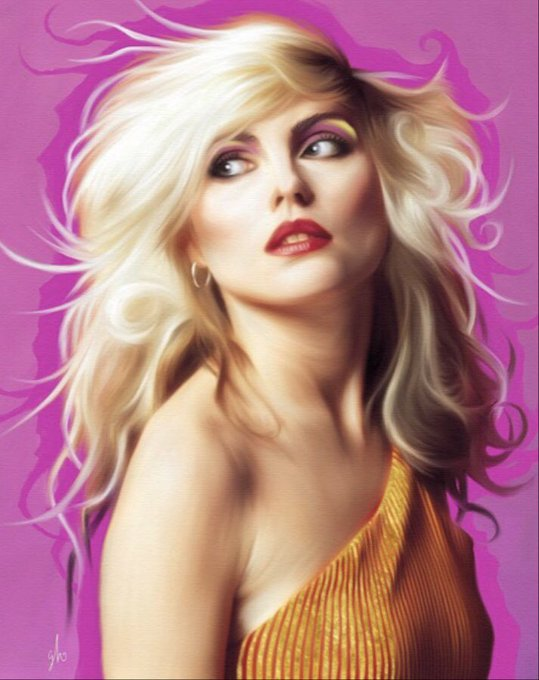 Happy birthday, Debbie Harry.  (Beautiful oil painting can be found: