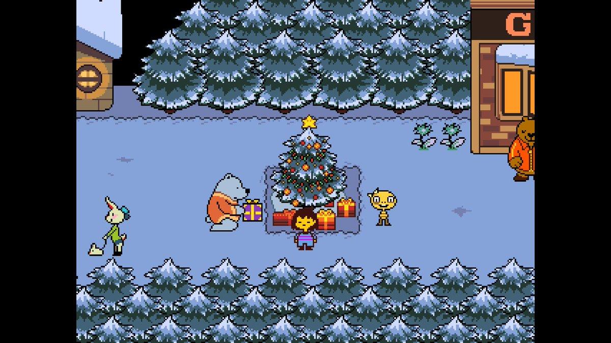 Undertale Christmas.𝐌𝐢𝐬𝐭𝐥𝐞𝐭𝐨𝐞 On Twitter Underground Christmas