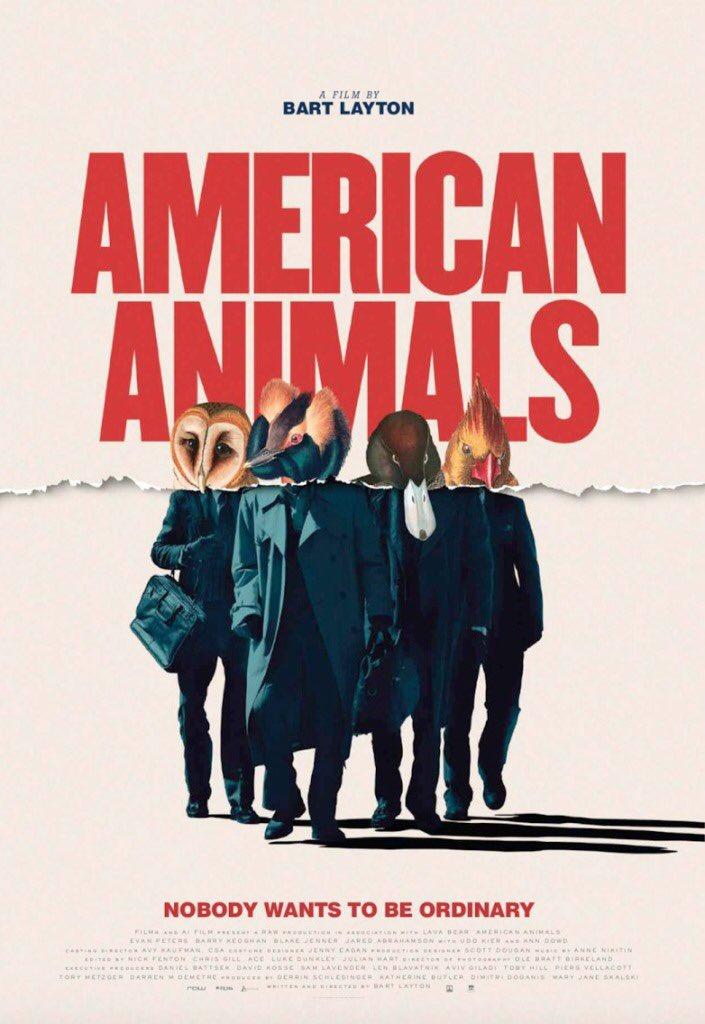 Go see this movie!!! It's so freaking good. Trust. 👌🏼♥️ @AmerAnimals