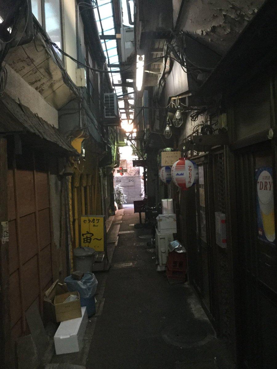 """高野豆腐 on Twitter: """"立石の呑兵衛横丁が遂に開発されるらしい。昭和 ..."""