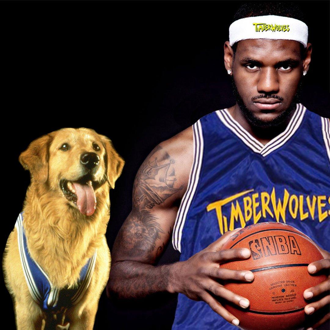 LeBron to the Timberwolves. <br>http://pic.twitter.com/BHTXqG9qLQ