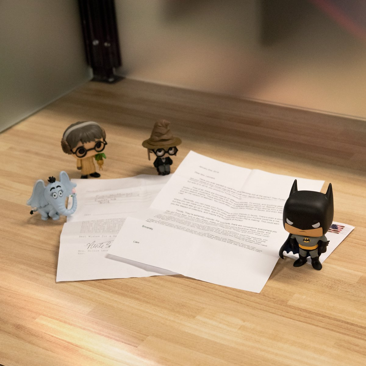 Mrs. Nicole asked her Middle School students to write letters to convince her to try something new for a writing exercise. Her student Liam chose Funko and said we have fun for everyone! Thanks for writing in, well send a fun prize pack for your whole class! #FunkoKidsCorner
