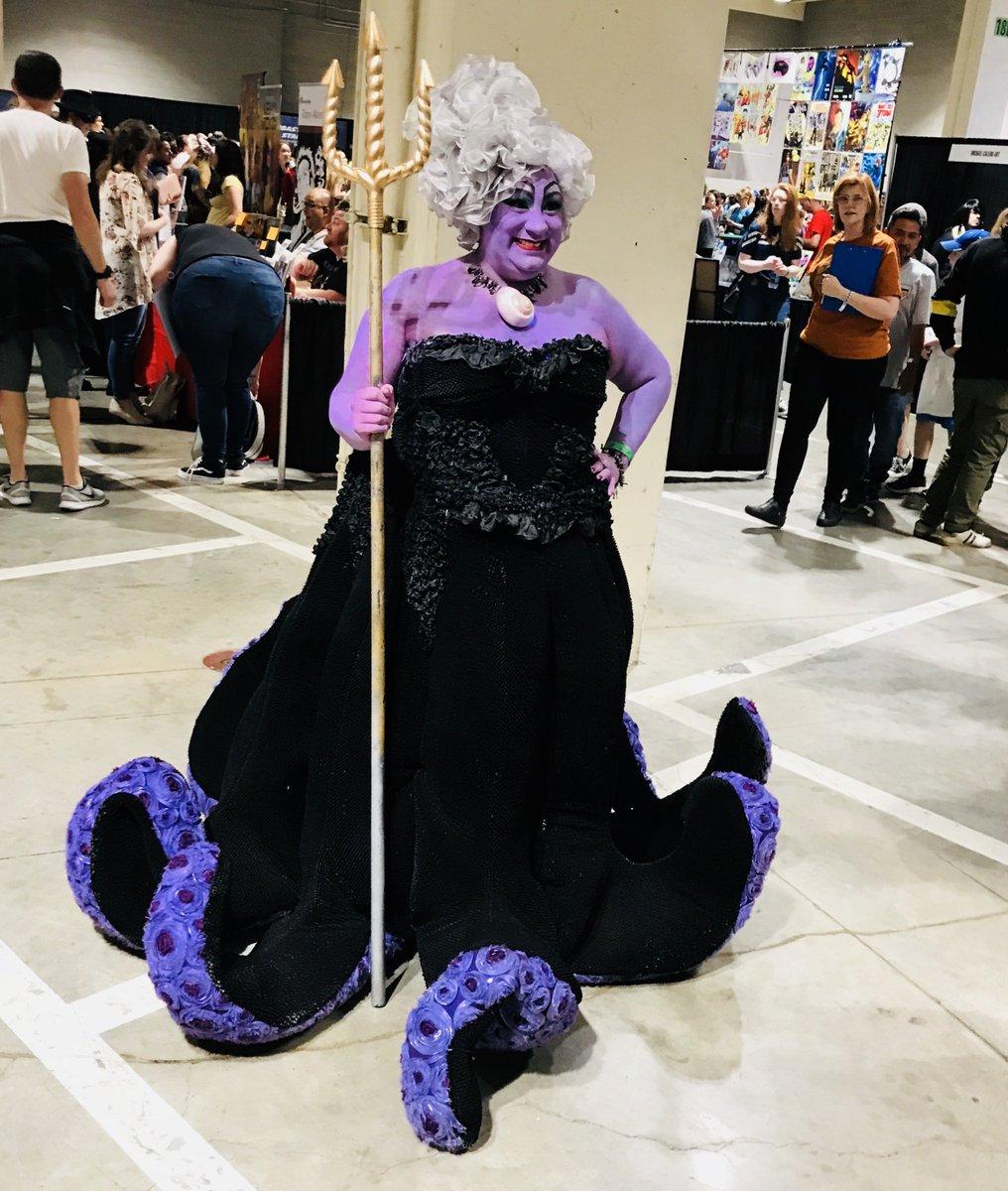 We found Ursula at @acecomiccon! #FunkoAceComicCon 🐙