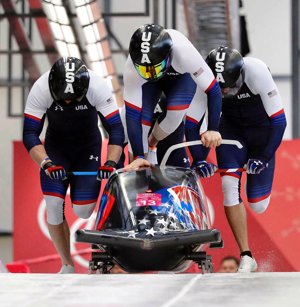 Happy Olympic Day! #teamusa #olympics #bobsled #bobsleigh #pyeongchang2018 <br>http://pic.twitter.com/RfurfdzLiY