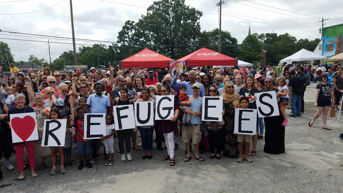 What better place to celebrate #WorldRefugeeDay than the Ellis Island of the South Clarkston, Ga.? Proud to call Clarkston part of the 4th!