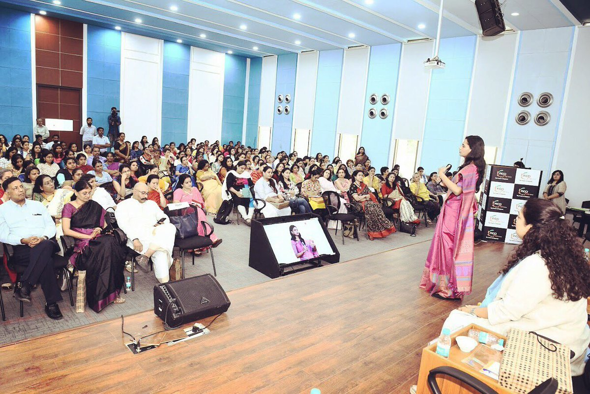 Was an honour and delight to be invited to @ficci_india &amp; @TiEChennai as Chief Guest and speaker for their Entrepreneurship workshop. Thank you @anupama Shivaraman for inviting me, and what a joy to bump into co-speaker @kaveri Lalchand and hear her inspiring journey <br>http://pic.twitter.com/O28edfGhgF