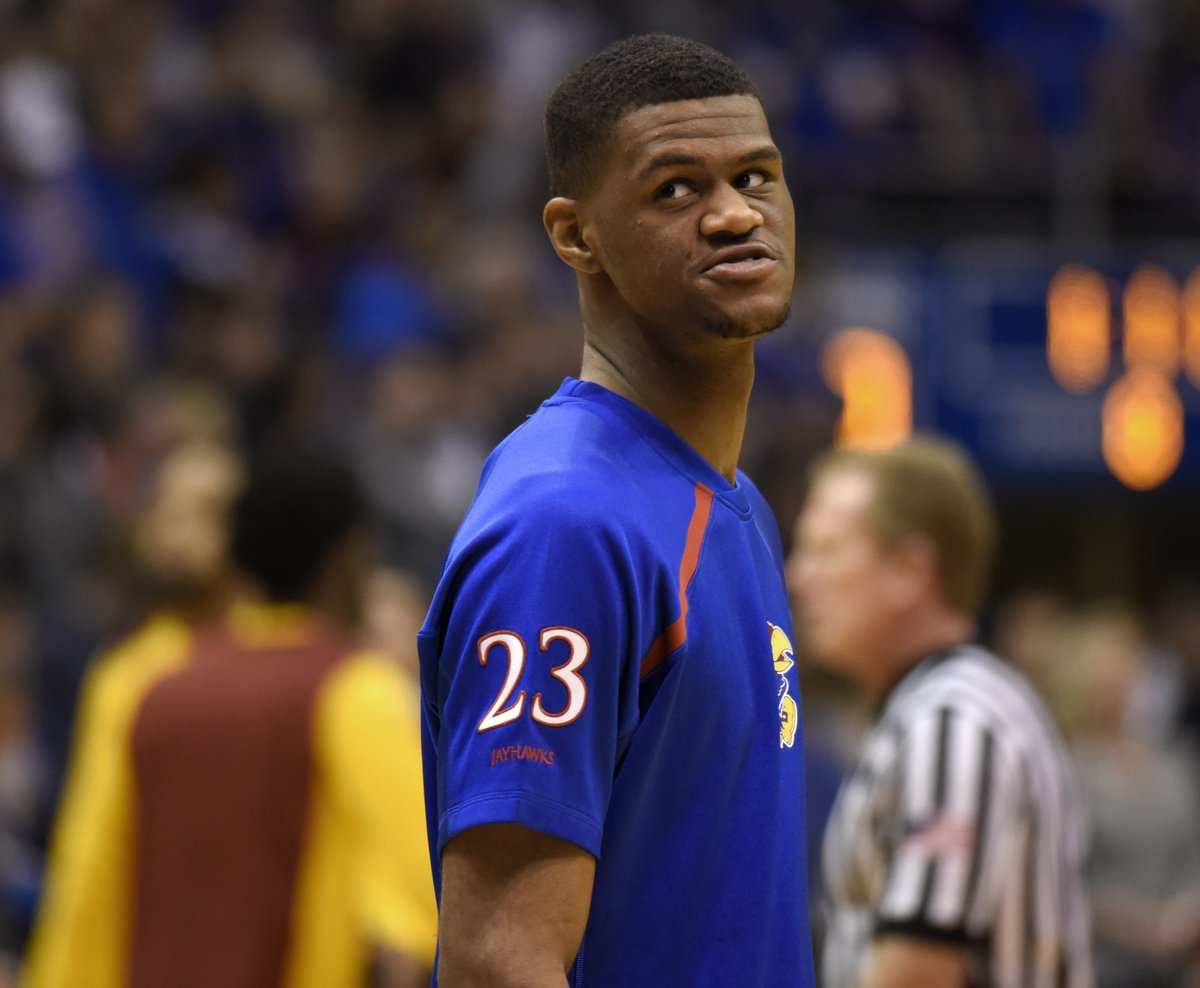 Former Kansas 5-star recruit Billy Preston has agreed to join the Cavs after going undrafted, per @ShamsCharania<br>http://pic.twitter.com/U65df6TgMD