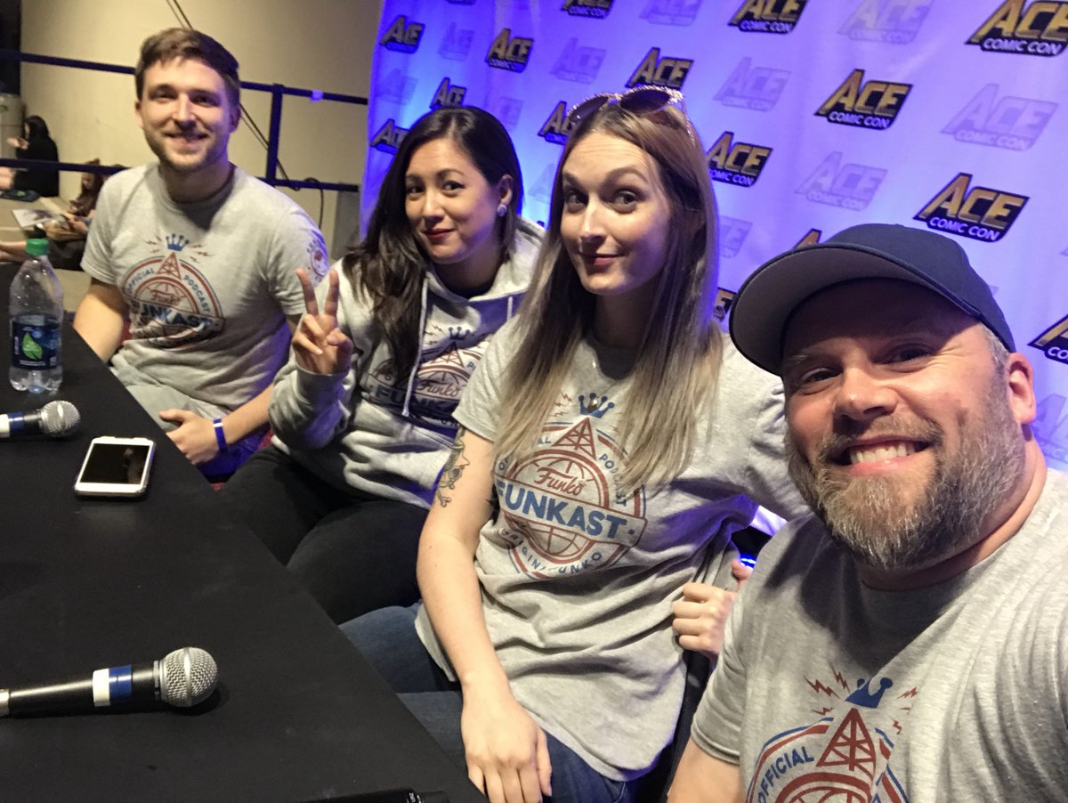 Thanks to everyone who came by our #FunkoFunkast Live at @ACEcomiccon! #FunkoAceComicCon