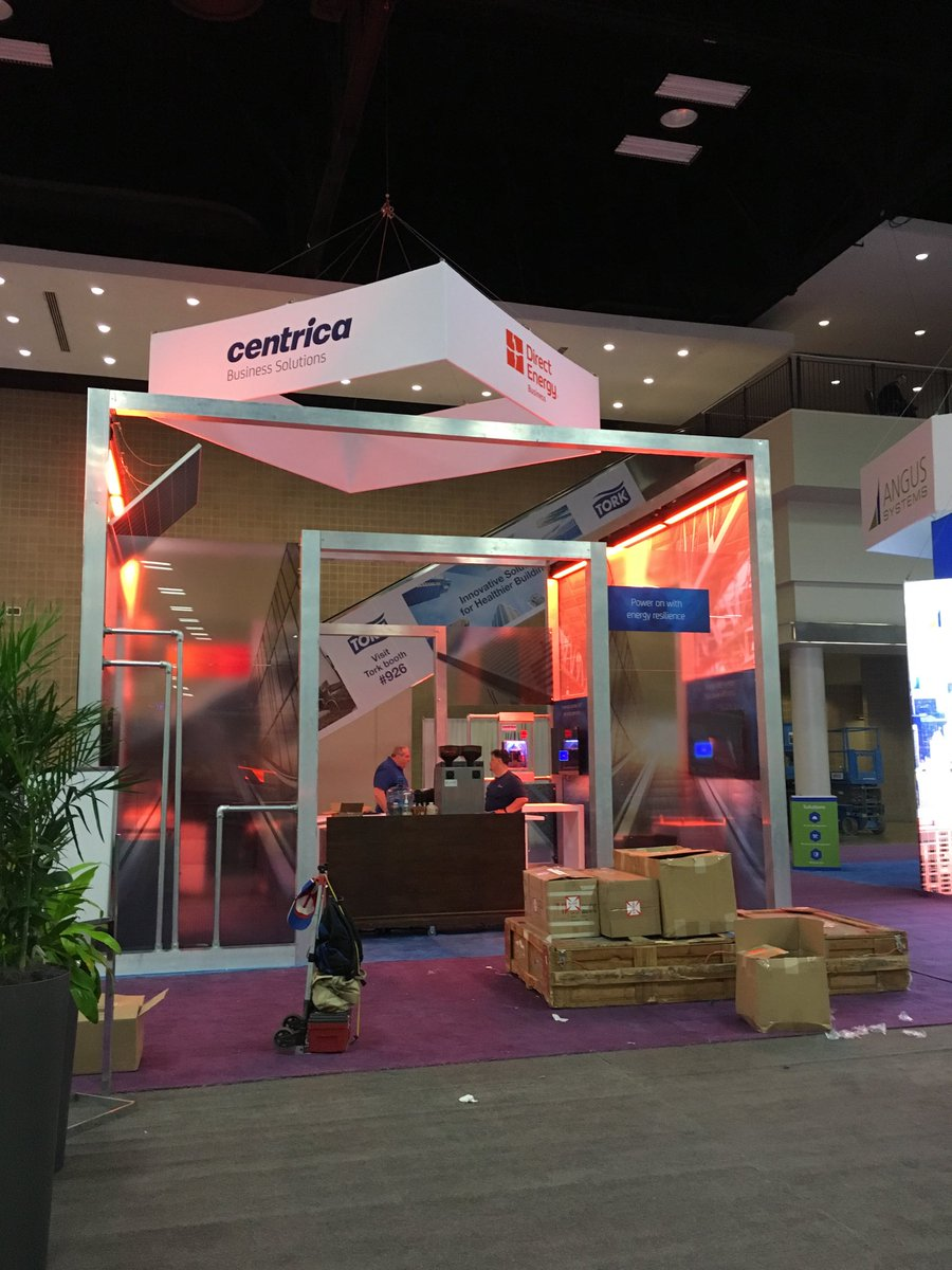 Sneak peak of @CentricaSoln_NA booth for #BOMA2018! Come see us at 1204. <br>http://pic.twitter.com/8zgcnZ4BEQ