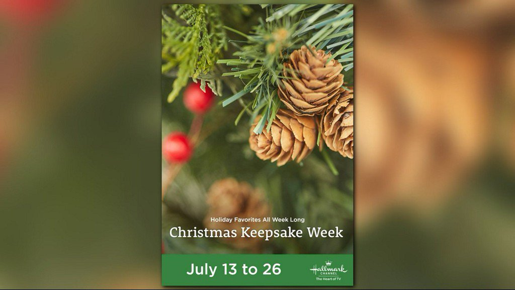 Hallmark Channel's 'Christmas in July' holiday programming starts July 13 https://t.co/H0CZgZLzQm