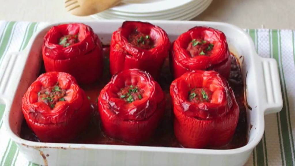 Food Wishes Recipes – How to Make Stuffed Peppers – Beef and Rice Stuffed PeppersRecipe https://t.co/u9rkJ2DmY6 https://t.co/9AuJpks2W1
