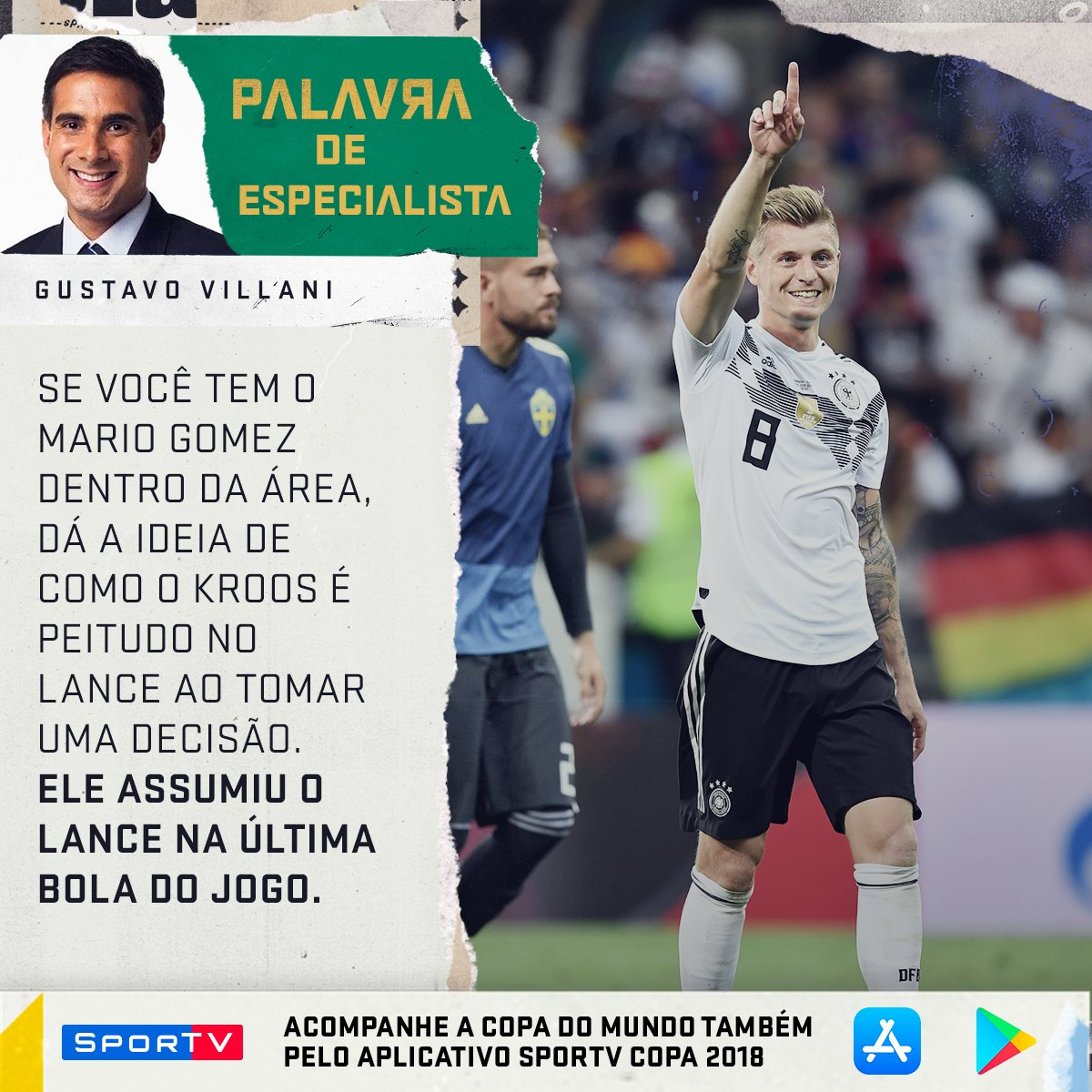 O cara chamou a RESPONSA pra decidir!  Acompanhe tudo sobre a Copa do Mundo no aplicativo do SporTV! #SouSporTVnaCopa  Android: https://t.co/pM3IzWAgDi  IOS: https://t.co/zO8wCn0Vby