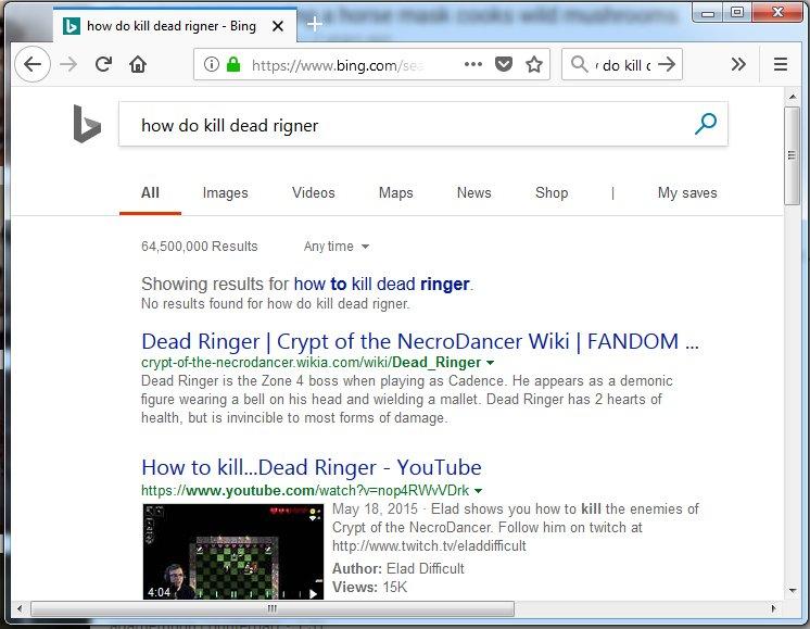 dead ringer 2018 wiki
