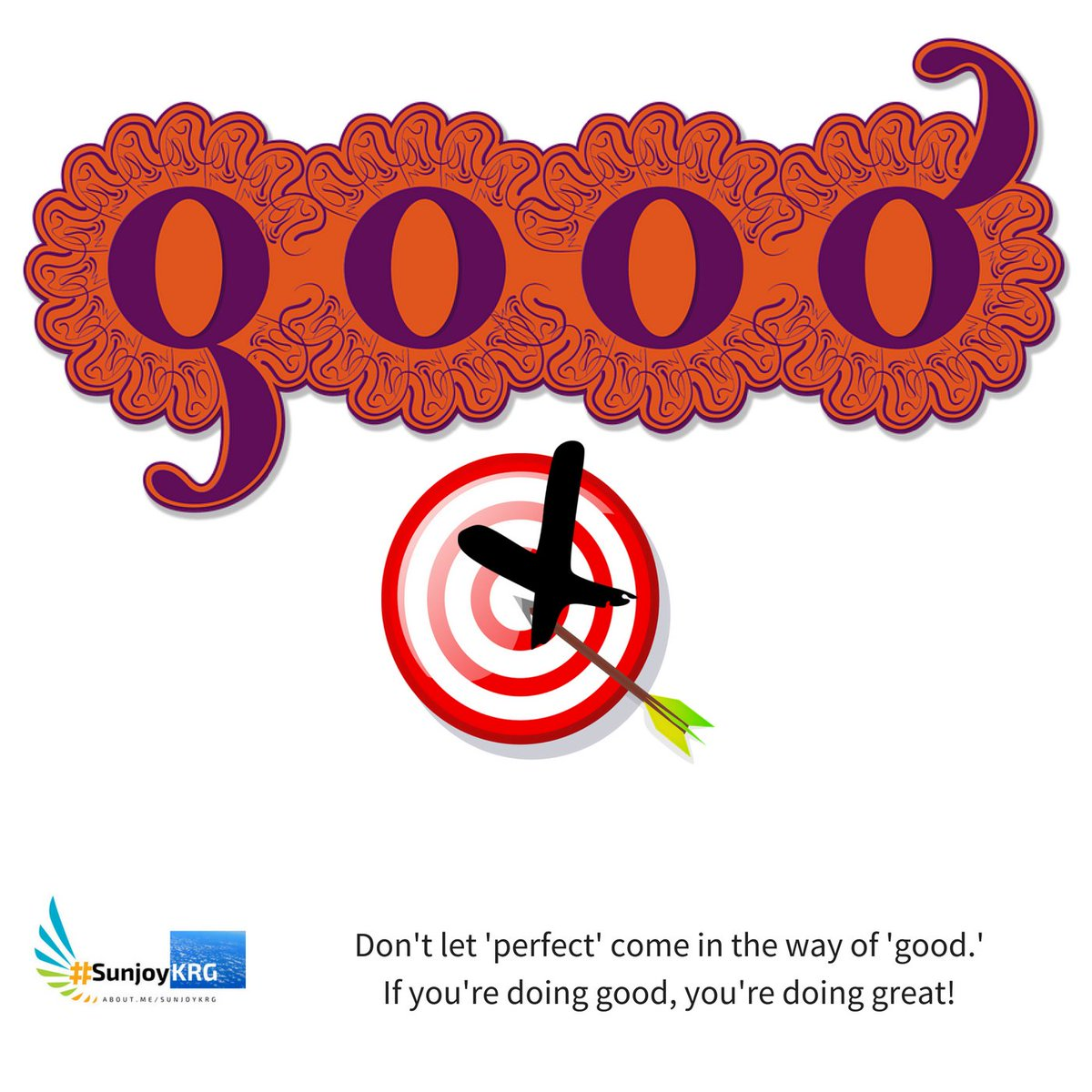Don&#39;t let &#39;perfect&#39; come in the way of &#39;good.&#39;  If you&#39;re doing good, you&#39;re doing great! #ThinkBIGSundayWithMarsha #SundayMotivation #motivation #Inspiration #Entrepreneurship #InboundMarketing #ScaleUp #startup #India #success<br>http://pic.twitter.com/tRALRDIXch
