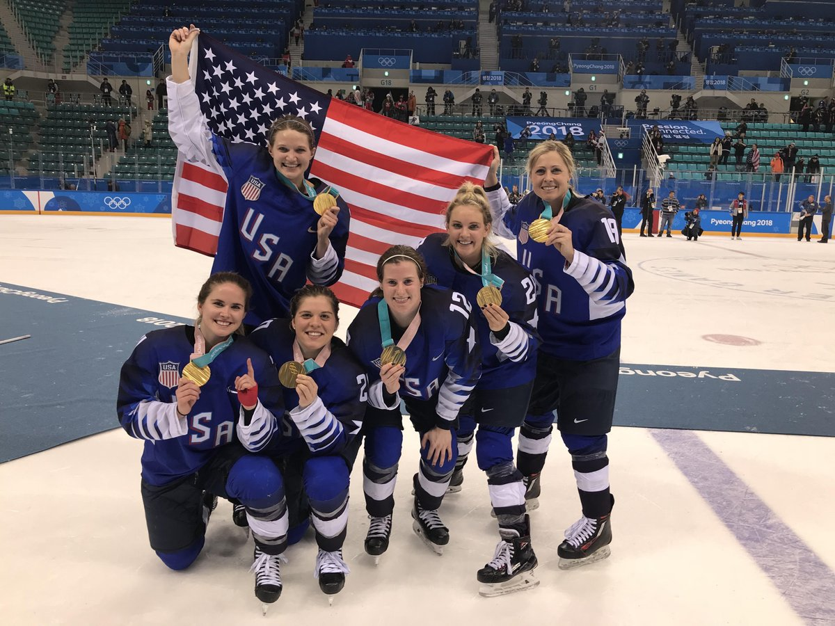Look back at some of our favorite #GopherOlympians s from #PyeongChang2018 on #OlympicDay. <br>http://pic.twitter.com/zv0XOou80d