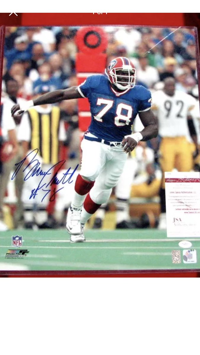 @TheBillsMafia Bruce smith and Thurman Thomas signed 16x20s $165 shipped for the pair or $85 each shipped. Both have jsa coa <br>http://pic.twitter.com/c8XKQW5iYE