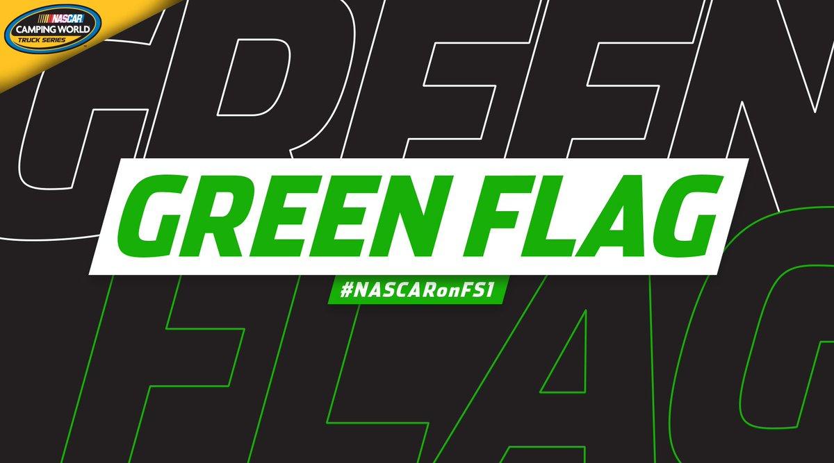 We are GREEN at Gateway!  📺: FS1 📱: https://t.co/QeaItHpzN9  📻: MRN, SiriusXM NASCAR 📈: https://t.co/CJbay5gUot