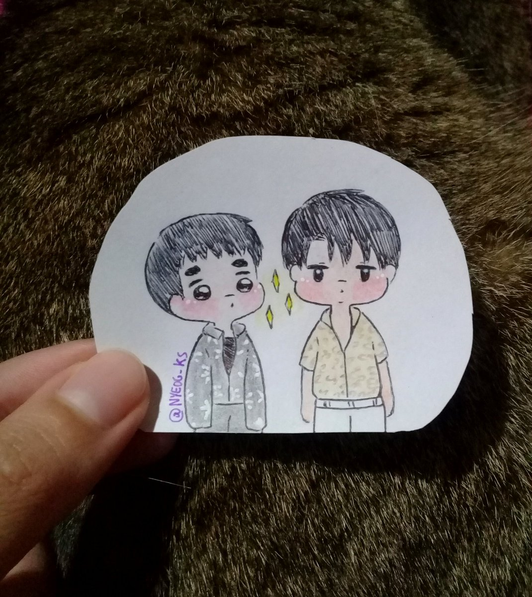 [Fanart] ☆ #Kaisoo ☆<br>http://pic.twitter.com/DH2WO0i4ws