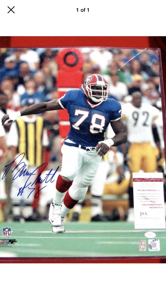 @BufBillsMafia Bruce smith and Thurman Thomas signed 16x20s $170 shipped for the pair <br>http://pic.twitter.com/omS7AnHczo