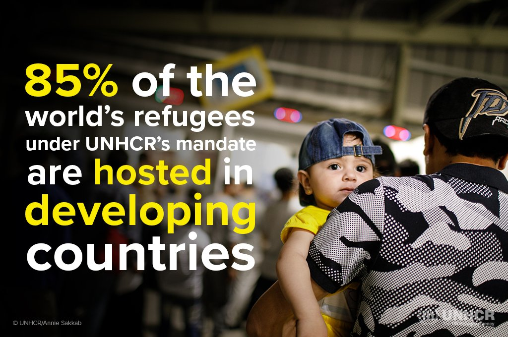 There is a single global refugee crisis and developing countries are rising to the occasion to extend a helping hand. https://t.co/VKhdTxuwrX