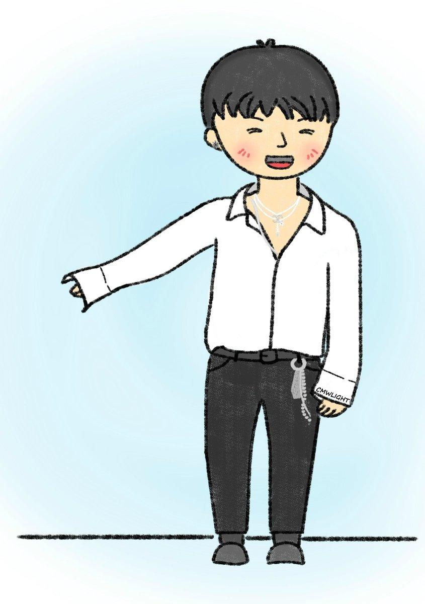 Dancing Geek is sooooo cute~  Pls don't remove my credit. #leegikwang #gikwang #이기광 #기광 #fanart <br>http://pic.twitter.com/jqdJUV4H74