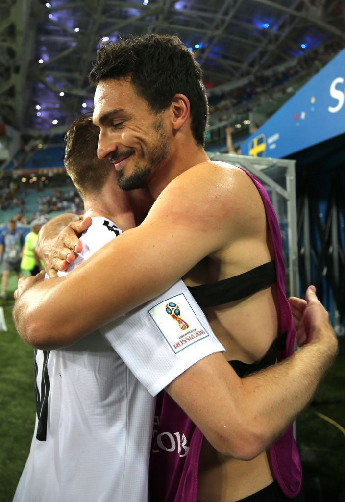 marco + mats hummels  jokes aside this pic is really cute tho <br>http://pic.twitter.com/F5mWpEa4LY