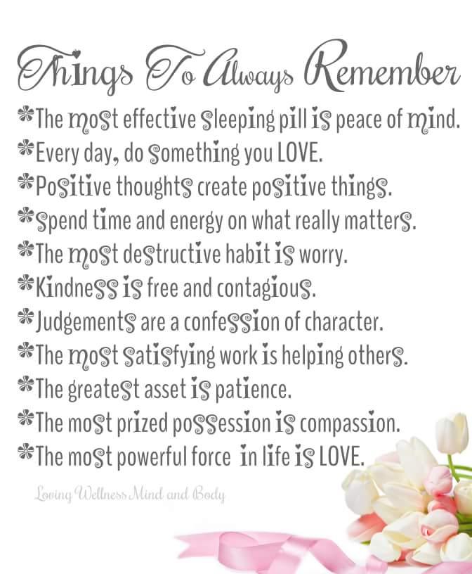 Things To Always Remember... #WeekendWisdom  #quotestoliveby  #peaceofmind #WednesdayWisdom  #mondaymotivation  #JoyTrain  #positivethinking #ThinkBIGSundayWithMarsha<br>http://pic.twitter.com/6MXZkqtBYP