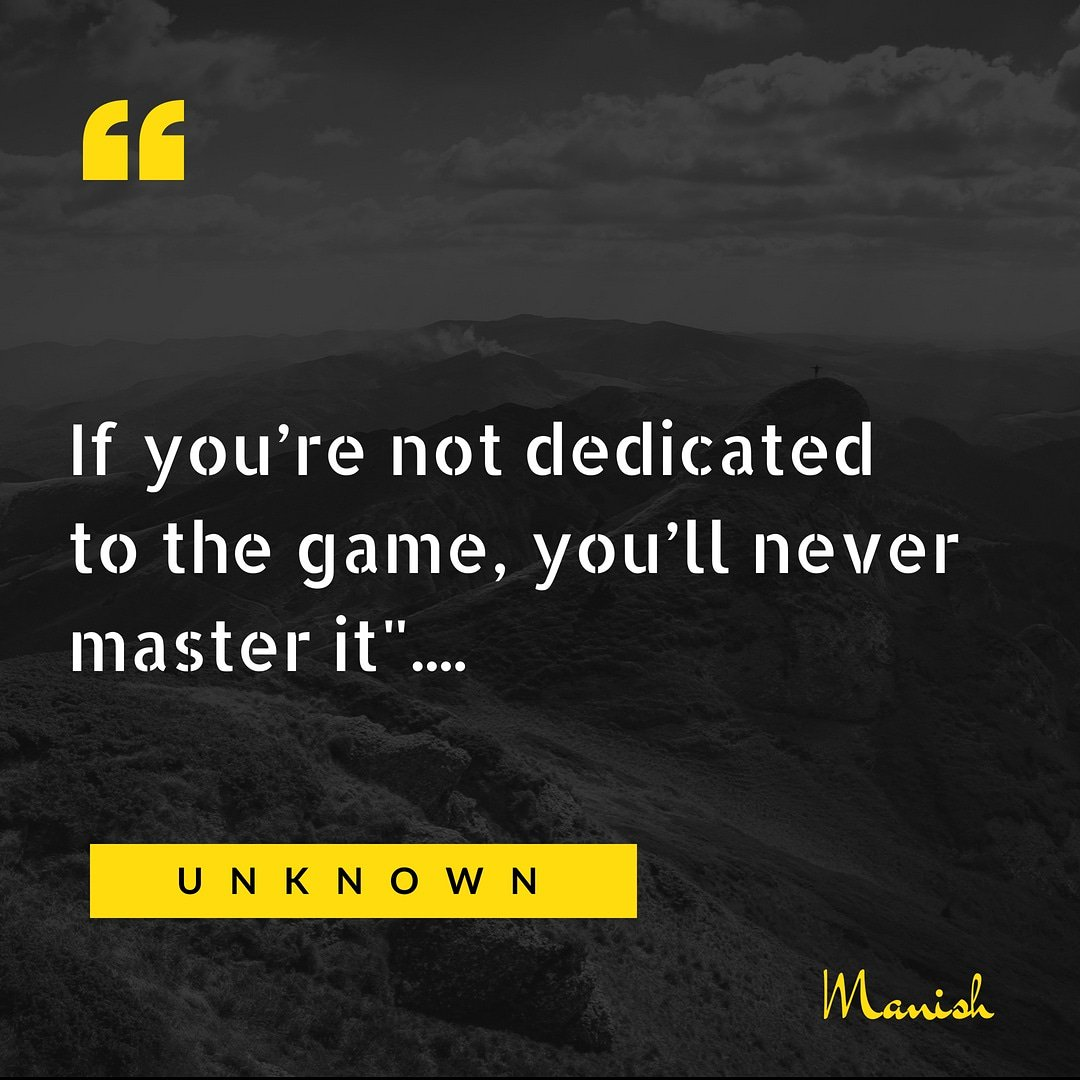 If you're not #dedicated to the game, you'll never #Master it. ........... #Believe #Inspiration #LifeisGood #ThoughtofTheDay #lifequotes #lifeisbeautiful #startups #Entrepreneur #LifeLessons #Startup #Entrepreneurs #Success #sundaythoughts #SundayMotivation #sundaymood<br>http://pic.twitter.com/KPt0oscQrb