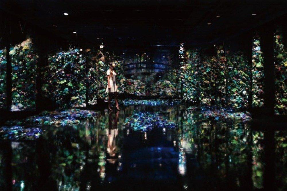 増田セバスチャン×クロード・モネ≪睡蓮の池≫、大型インスタレーションをポーラ美術館で - https://t.co/7o5YO4rx48