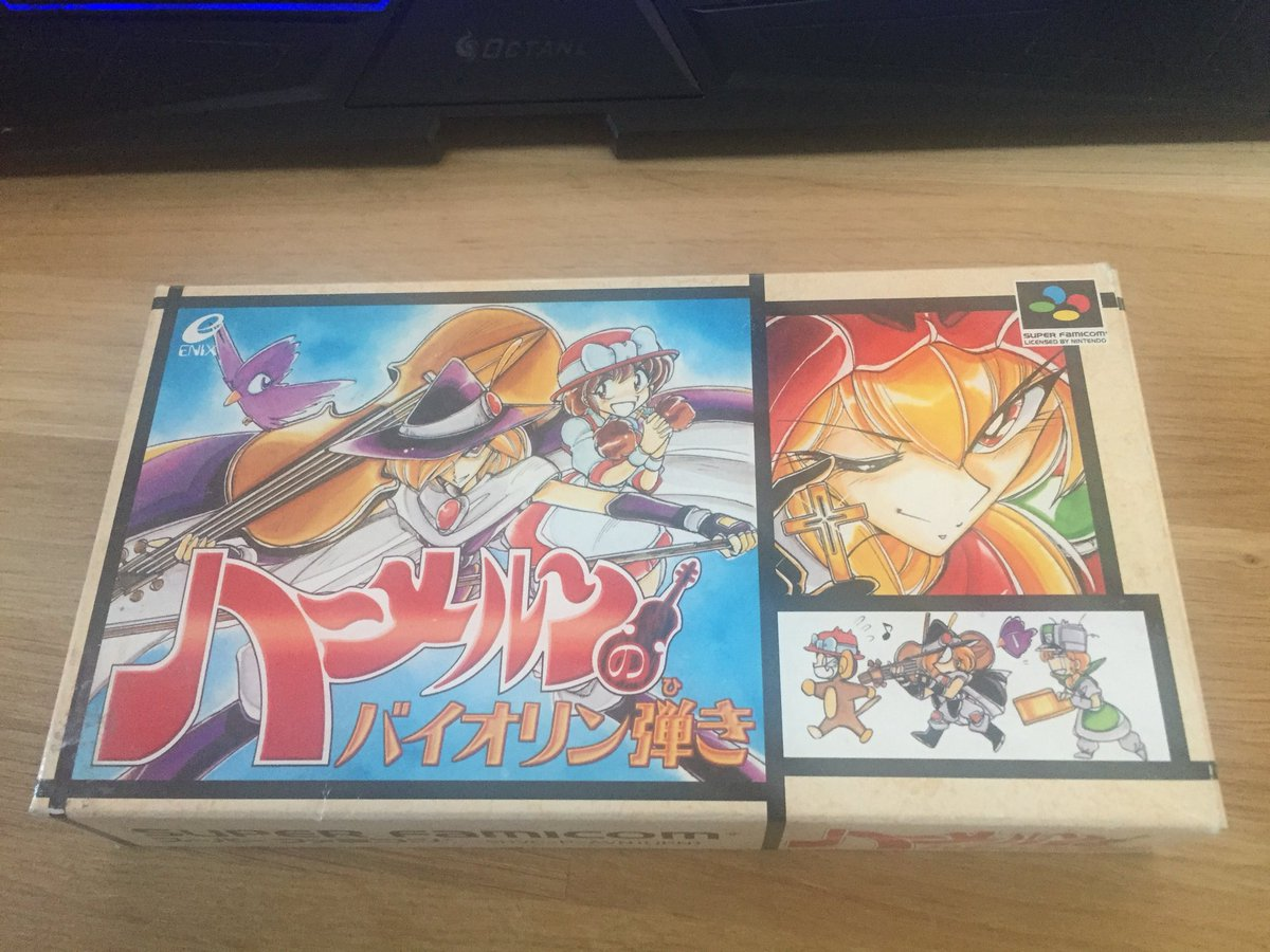 #CIBSunday This is Violinist of Hameln (Hameln no Violin Hiki) for the Super Famicom  It's a nice platformer that never made it out of Japan. It's based on a manga I've never heard off too!  Certainly an obscurity! And look at that art !  <br>http://pic.twitter.com/ORdzhrTR3h