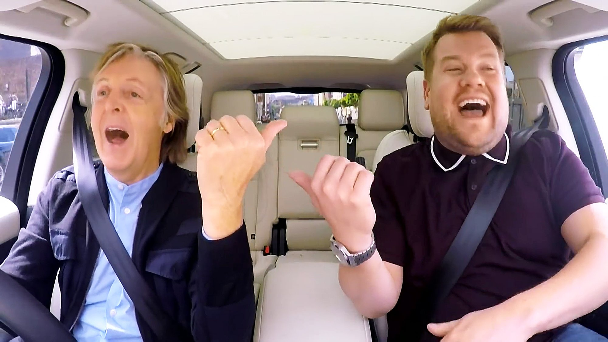 Reloaded twaddle – RT @KawaiPianos: Enjoy an outing with James Corden @JKCorden and Sir Paul McCart...