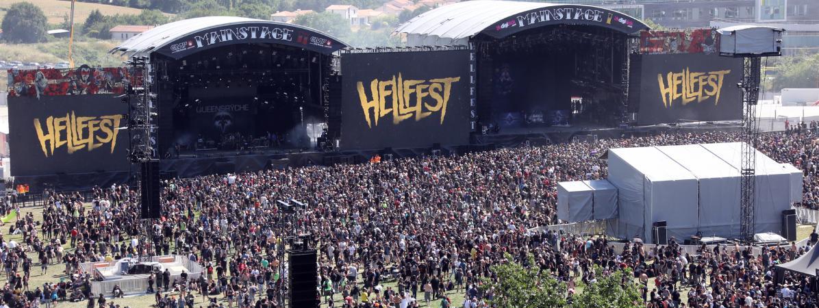 Hellfest : la ville de Clisson devient 'la capitale du métal le temps d'un week-end' avec 'des festivaliers du monde entier' https://t.co/oNZzHGEmbu