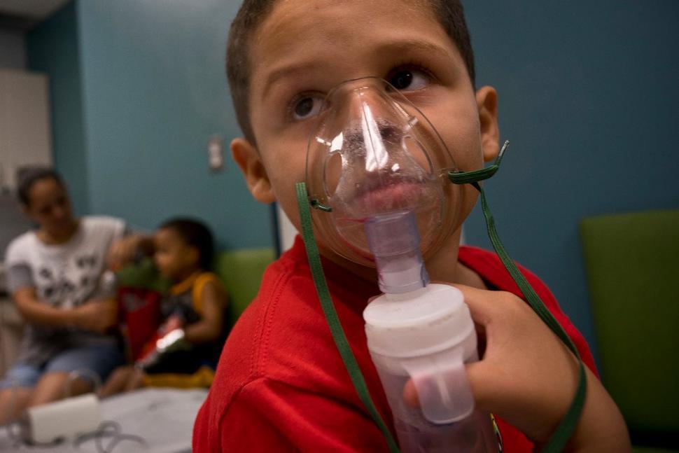 Puerto Rico has seen jump in asthma cases post-Hurricane Maria. https://t.co/m5GwTFvmeh