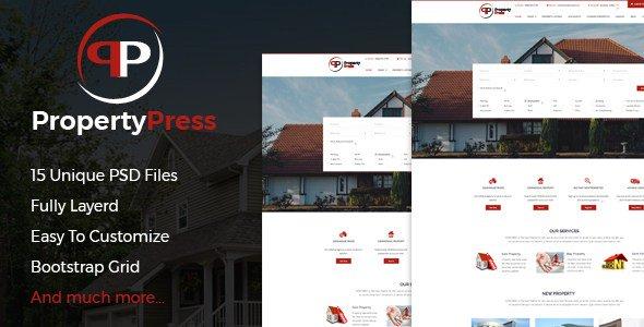 PropertyPress PSD Template https://xtheme.us/blog/propertypress-psd-template/…pic.twitter.com/Uvds1lbv5e