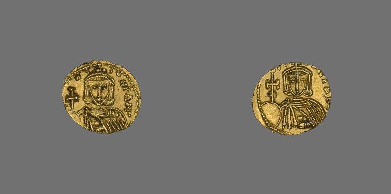 Tremissis (Coin) of Leo III,  720–741, minted in #Constantinople (Photo: @artinstitutechi )  https:// hagiasophiaturkey.com/byzantine-trea sures/ &nbsp; … <br>http://pic.twitter.com/XCUm6JlLI2