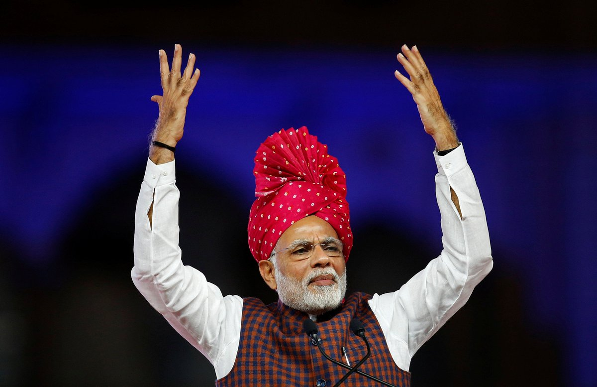 The winning Indian cricket team showed sportsmanship in asking the Afghanistan team to pose together for photographs, sports is an excellent route to unite society and to showcase skills of our youth: P @narendramodiM   #MannKiBaaton   LIVEhttps://t.co/hxmtEiLSuT --