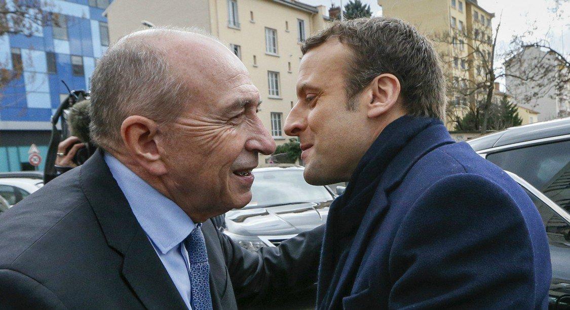 """Gérard Collomb visé par une plainte pour """"détournement de fonds"""" dans la campagne d'Emmanuel Macron https://t.co/84pEvwC8ZT"""