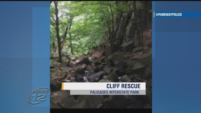 Police say a woman fell down a cliff at the Greenbrook Sanctuary. https://t.co/abHqDZt2nR