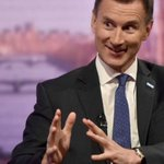 Image for the Tweet beginning: Tory Jeremy Hunt just got