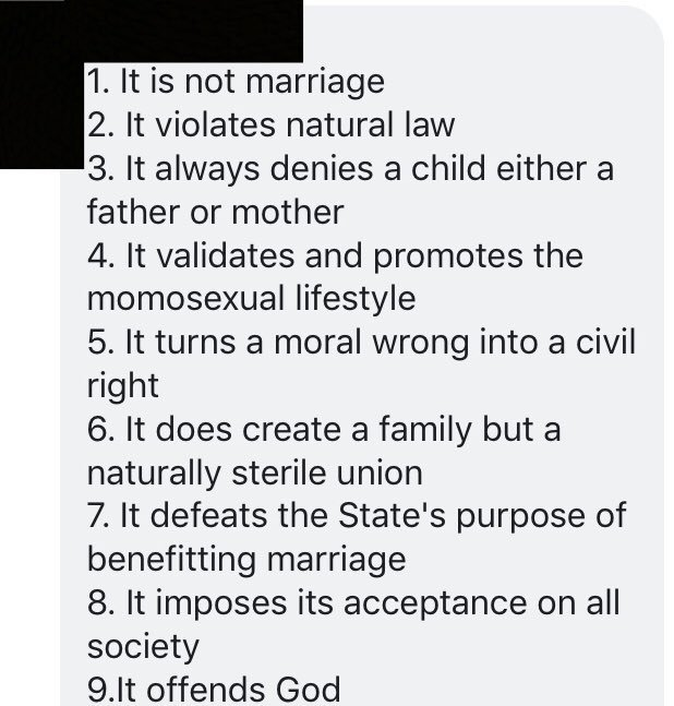 Same sex marriage bill adultery