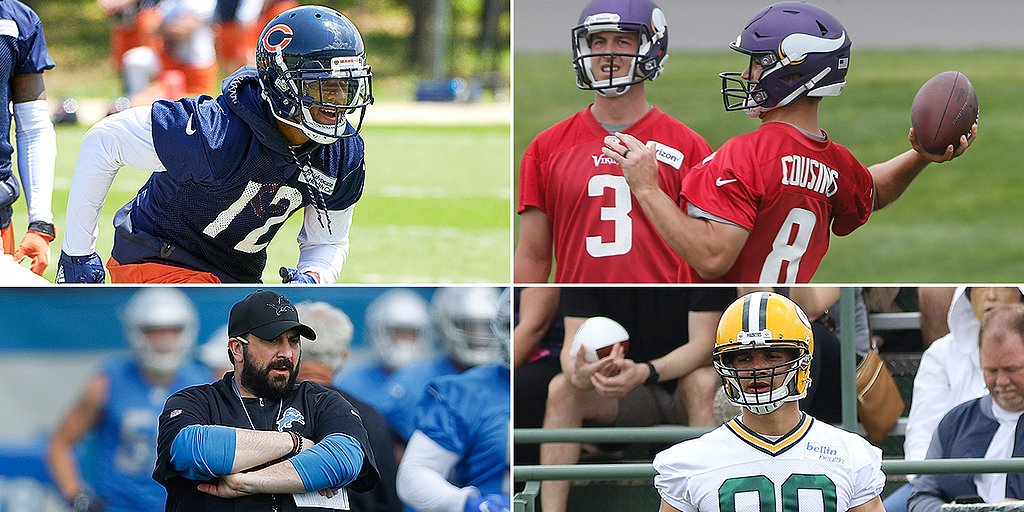 what do u guys think about this NFC North Offseason Report Cards: Vikings Go All-In for Kirk Cousins, Packers Bring in TE Help si.com/nfl/2018/06/21… #news #sports #NFL
