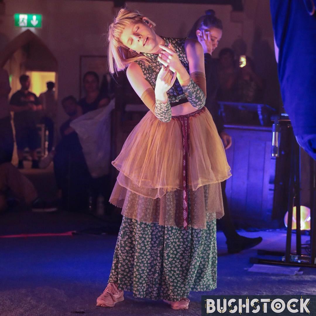 RT @AuroraFranceOff Aurora @ the Bushstock Festival in the St Stephen's church 🇬🇧  📷: @BushstockFest (1) & englishhaze (2-3-4)