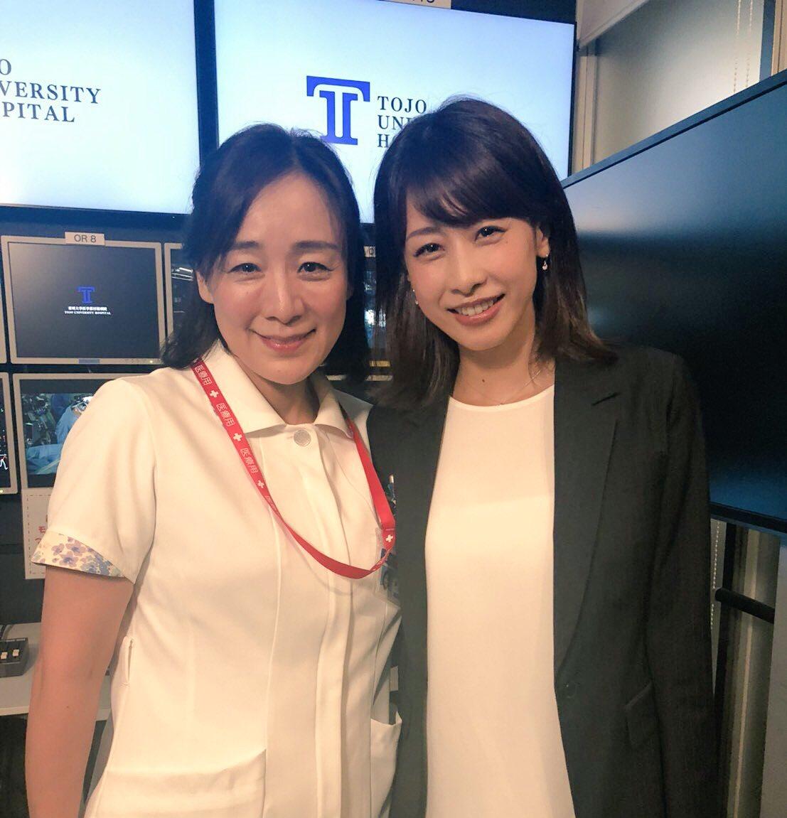 神野三鈴さんと加藤綾子さん
