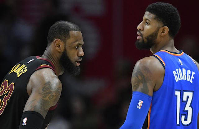 LeBron reportedly is doing some background work with potential future teammates. https://t.co/dLflKQ0hBe