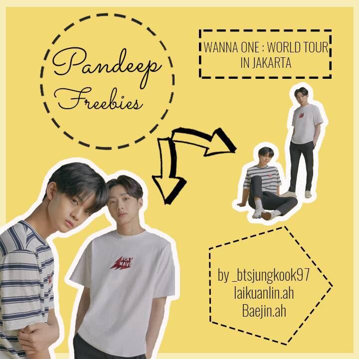 [ HELP RT ]           FREEBIES            WANNA ONE    CONCERT IN JAKARTA Fansupport for Pandeep  Freebies by IG : _btsjungkook97, laikuanlin.ah &amp; baejin.ah Twitter : @bucinjk &amp; @kimtaelin_  For details check pict      See you soon Wannables!    #WannaOneWorldTourinJKT<br>http://pic.twitter.com/WRH6JuTLY1