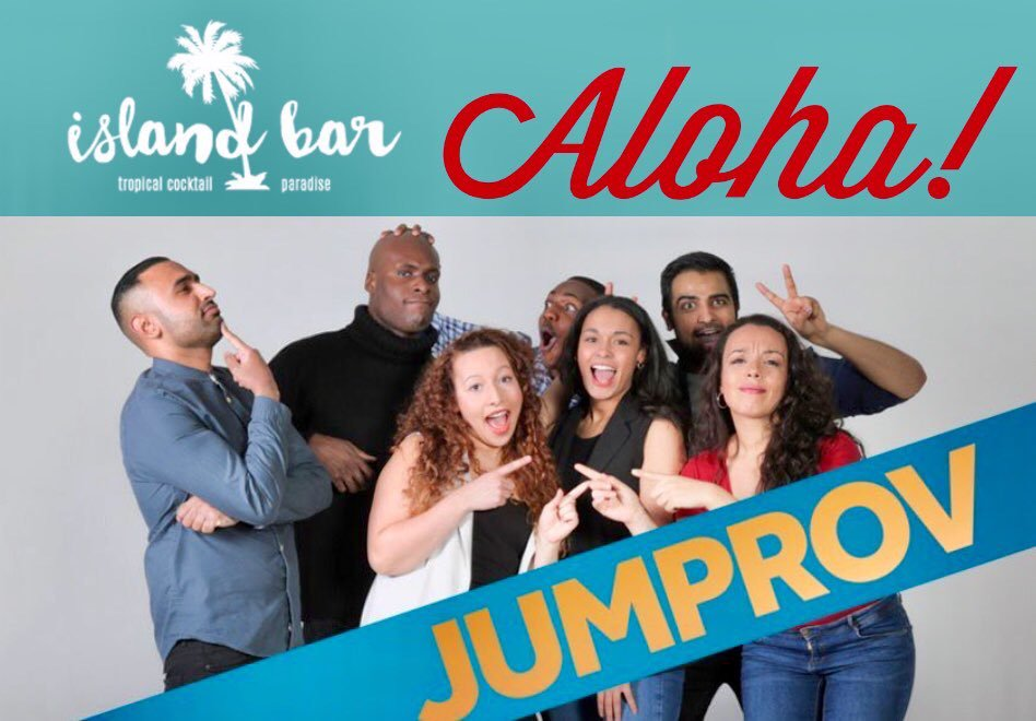 Jumprov: Comedy Island Show • Jam • After Party 100% Unrehearsed Sketch Comedy Wednesday 25th July 8PM Island Bar Birmingham, B1 1LT Pre-Drinks/Doors 7PM Session &amp; After Party Limited Tickets: £5+BF MOTD  https://www. eventbrite.com/e/jumprov-come dy-island-tickets-47110425551 &nbsp; … <br>http://pic.twitter.com/j05fZXu8Ic