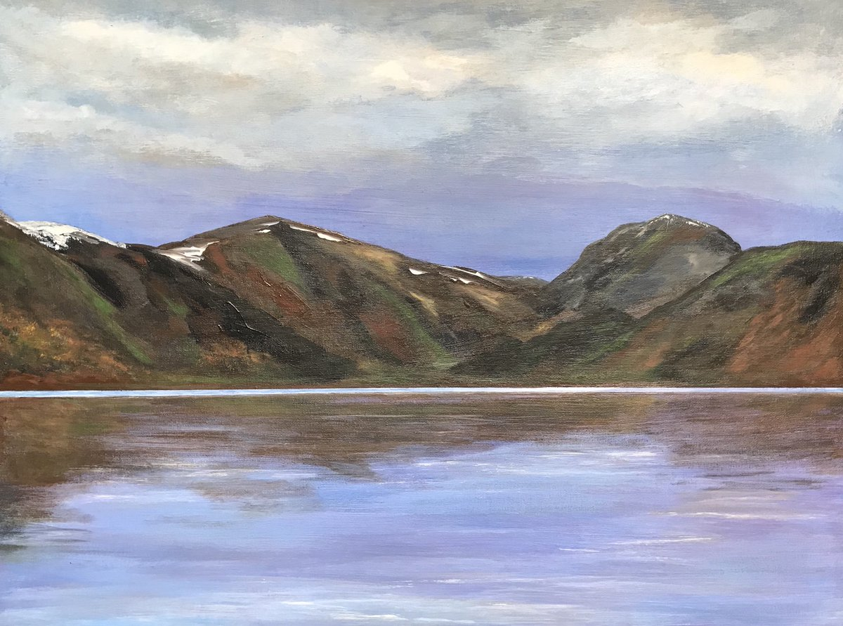 Happy Sunday #UKGiftHour  hope the sun is shining for everyone  I'm off to work now My latest finished canvas 18x24 inch #LochLomond #Scotland #SundayMotivation #ScottishArt #acrylicpainting #artistsontwitter #canvasart #shopindie #ScotlandIsNow  https://www. etsy.com/uk/shop/Amazin graceart &nbsp; … <br>http://pic.twitter.com/azp2kKMJzx