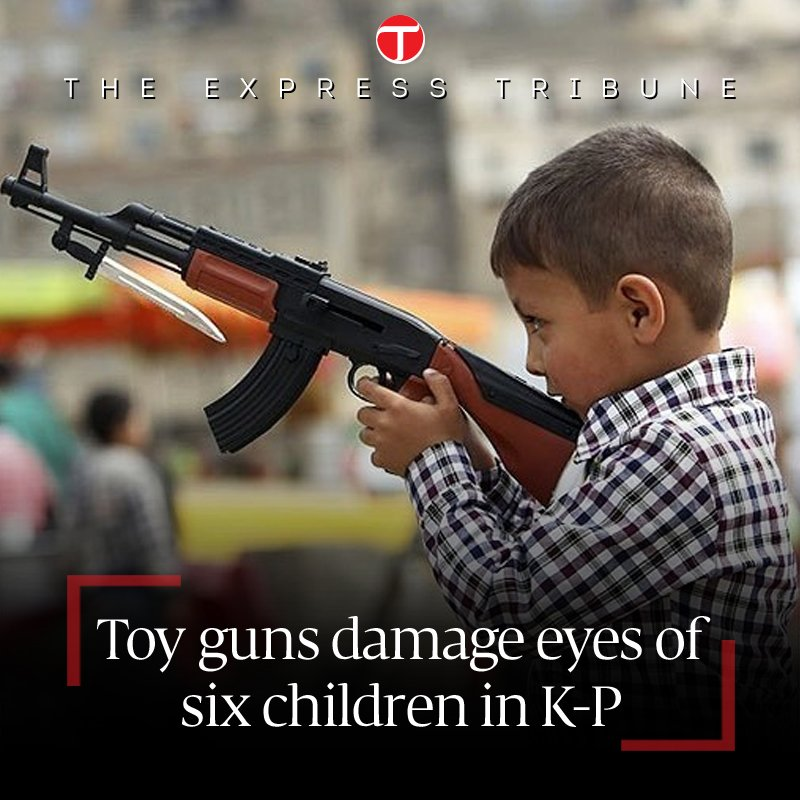 Thirty others suffer serious eye injuries, doctors, activists demand ban on toy guns https://t.co/FetHvionlO