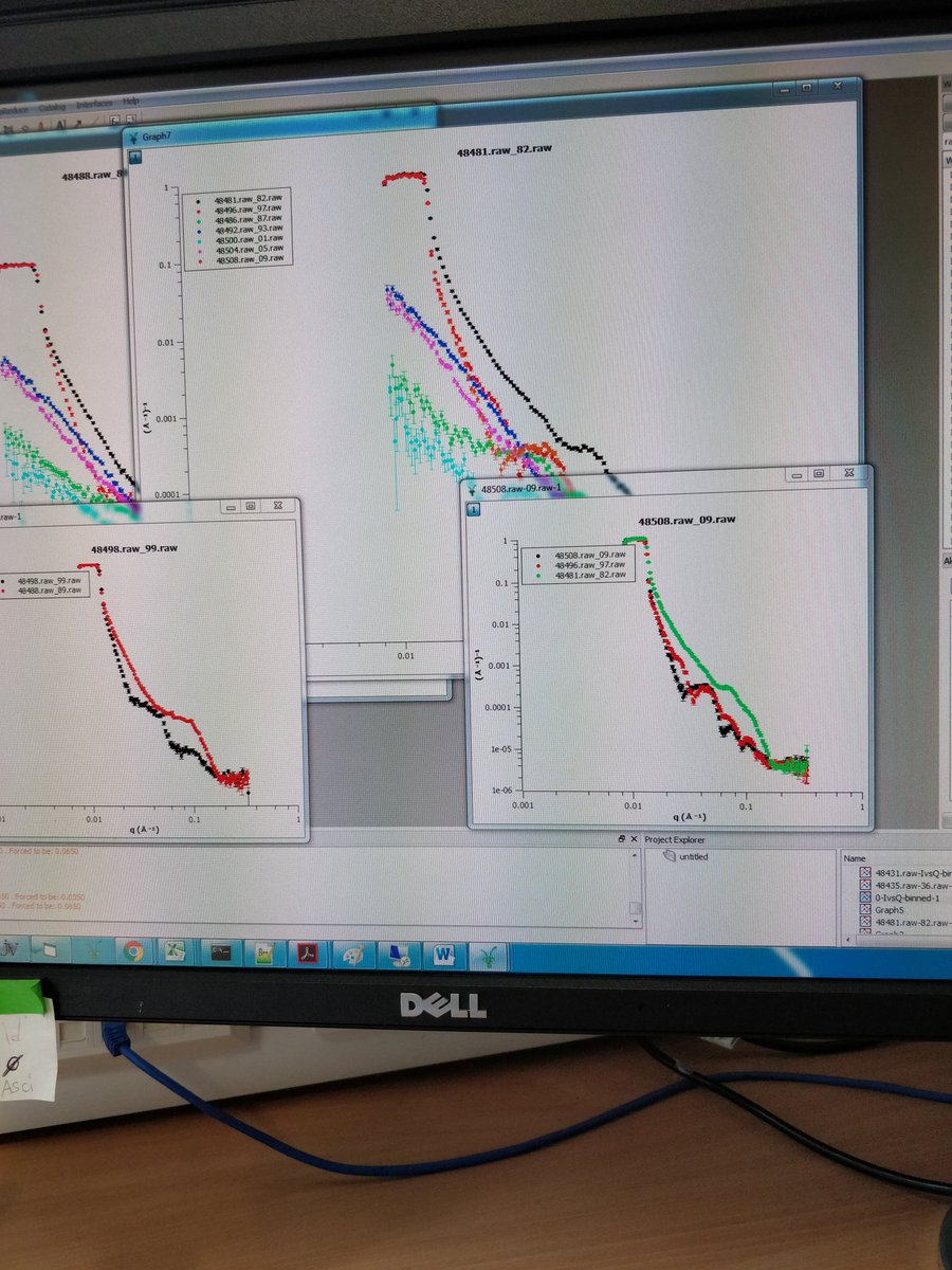 Ed Mansfield On Twitter After 2 Beam Times And Many Tears Finally Computer Monitor Wiring Diagram We See An Interaction Final Day Now To If Get Any More Isisneutronmuon
