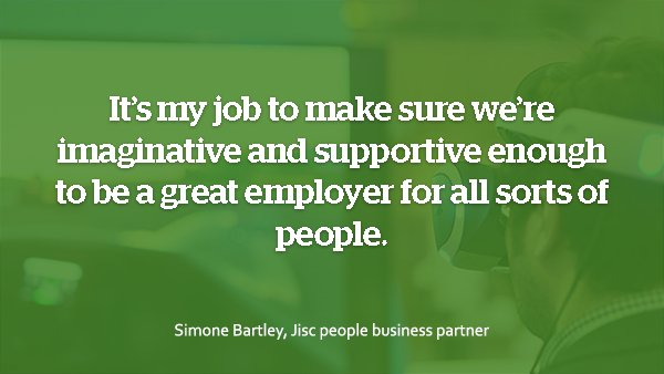 test Twitter Media - Simone Bartley, our people business partner, explains how we're making change happen at Jisc https://t.co/yZsezg9wJ8 https://t.co/5NOTSR0oOX